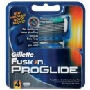 Gillette Fusion Proglide Zamjenske britvice 4 kom.